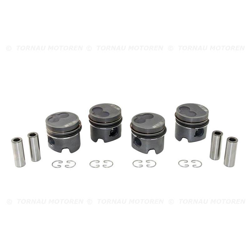 Vw Piston Kit: Piston Kit (0,50mm) Audi VW 1.6 D / TD 068107081BD / CS JX