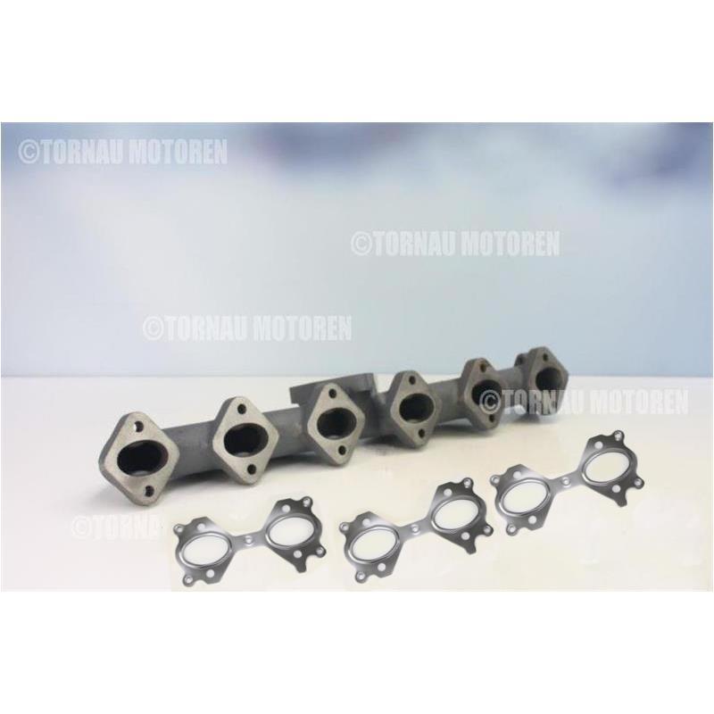 BMW Abgaskrümmer iron cast exhaust manifold diesel 25d 30d E60 X3 E83 X5 E53 E46