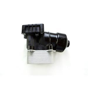 Gebr. Ölfilterhalter + Ölkühler original VW 1.6 2.0 TDI 03L117021C + 03L115389C