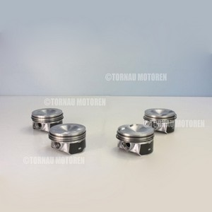 4x Kolben mit Ringen Audi Seat Skoda VW 2.0 TFSI CCZA CDNA CBFA piston with rings