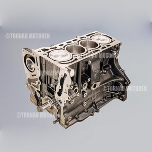 Kurbeltrieb Austauschmotor Audi 1.4 TFSI CNV / CNVA engine short block