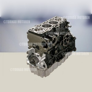 Kurbeltrieb Austauschmotor Audi Seat Skoda VW 1.9 AJM AVF BKC BXE shortblock