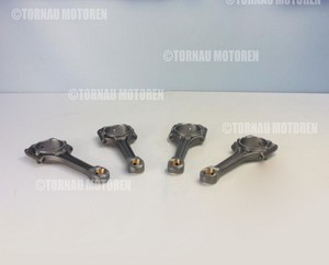 4x Pleuelstange Audi Seat Skoda VW 2.0i BSX 06A198401 connecting rod original