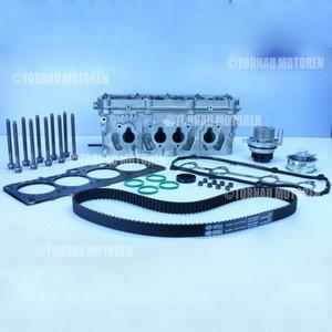 Zylinderkopf mit Dichtsatz, Schrauben und Zahnriemenkit Audi Seat Skoda VW 1.6