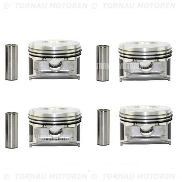 Kolben Set +0,50 Übermaß Hyundai Atos &i Kia Picanto 1.1i G4HG piston