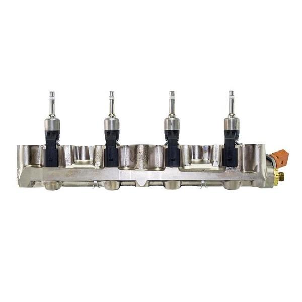 Saugrohr mit 4 Einspritzventilen 1.4 TSI 06J906051D 03C906036M 03C133202AQ