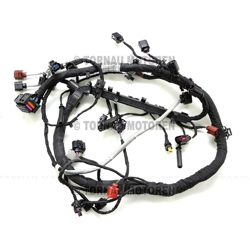 Sensational Engine Wiring Harness Audi Skoda Vw Seat 1 6 Tdi 04L972627Jg Wiring Digital Resources Funapmognl