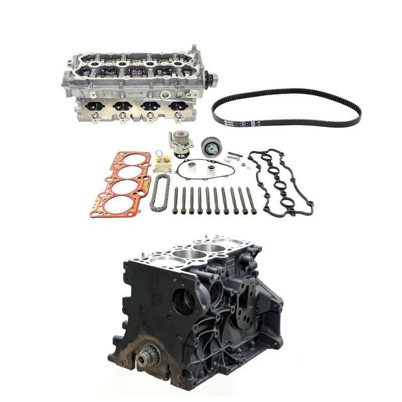 Motor & Zylinderkopf Kit + Mont.Teile Audi VW 2.0 AXX 06F103011F ...